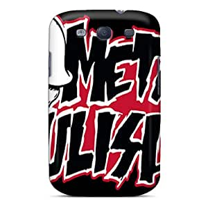 Perfect Cell-phone Hard Cover For Samsung Galaxy S3 (Nwy3095GDBx) Allow Personal Design Beautiful Metal Mulisha Image