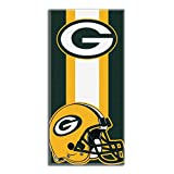 "NFL Green Bay Packers ""Zone Read"" Beach Towel, 30-inch by 60-inch"