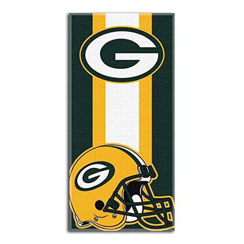 The Northwest Company NFL Green Bay Packers Zone Read Beach Towel, 30