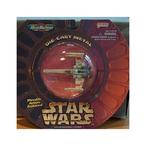 - Classic Star Wars: Micro Machines Classic Die-Cast Vehicle: X-Wing