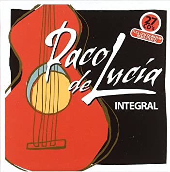 amazon paco de lucia integral paco de lucia 輸入盤 音楽