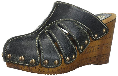 Sbicca WoMen Elemental Wedge Sandal Black