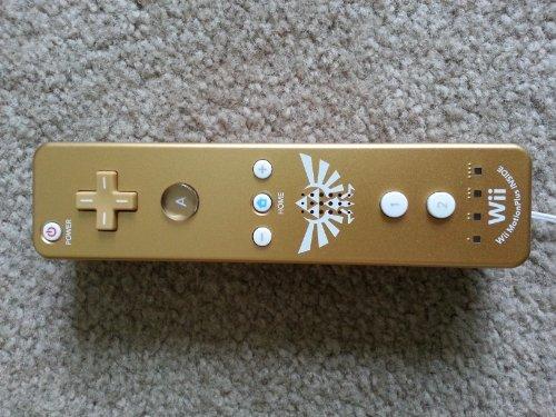 Nintendo Wii Remote Plus Gold Zelda
