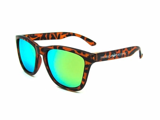Gafas de sol MOSCA NEGRA modelo ALPHA LEOPARD - Polarizadas: Amazon.es: Ropa y accesorios
