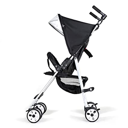 Amazon Com Foldable Compact Baby Stroller One Hand Fold Two Tier