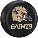 New Orleans Saints NFL Black Tire Cover