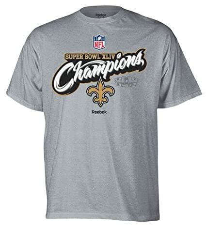 b6bc9fad3 Reebok New Orleans Saints Super Bowl XLIV Champions Locker Room T-Shirt XX  Large