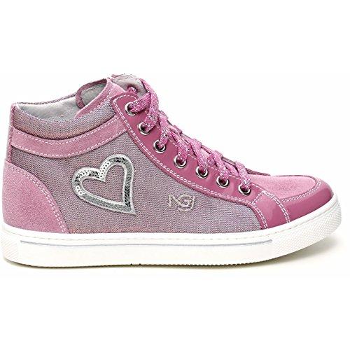 Nero Giardini , Mädchen Sneaker Pink rosa 30 Velour Violetto