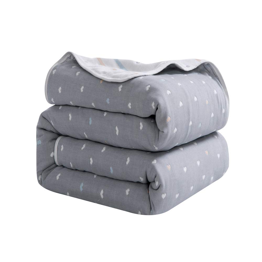 Mountain home textile AB Double-Sided six-Layer Gauze Towel is Thickened Summer air Conditioner is Cotton Double Single Towel Blanket Cotton