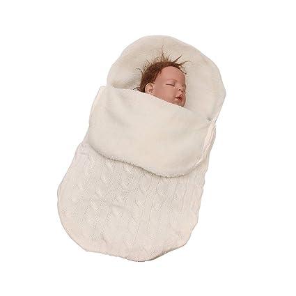 Bebé Recién Nacido Manta Bebé Tejer Suave Caliente Forro Polar ...