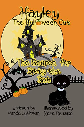 Hayley the Halloween Cat and The Search for Bitty the Bat -