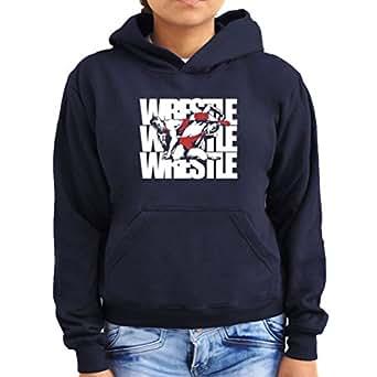 Wrestle! Wrestling Women Hoodie