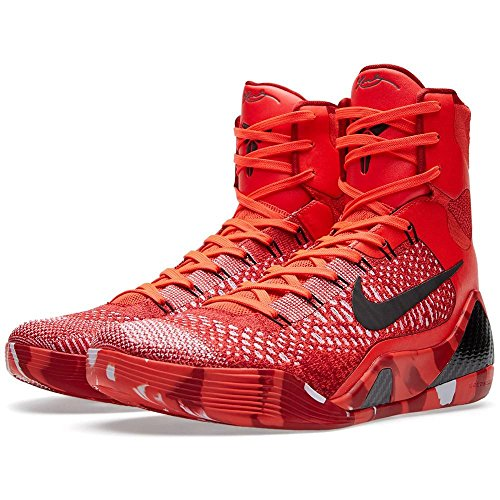Men's Nike Kobe 9 Elite Christmas Basketball Shoes Bright...