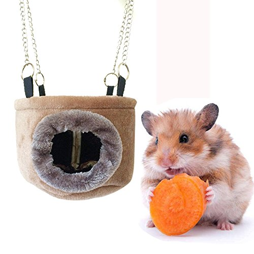 Hamster Bedding Hamster Bed House Hammock Small Animal Bed House Cage Nest Hamster Accessories