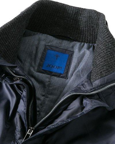 JOOP! Herren Jacke Jack Mikrofaser modisches Langarmoberteil Unifarben, Größe: 50, Farbe: Blau
