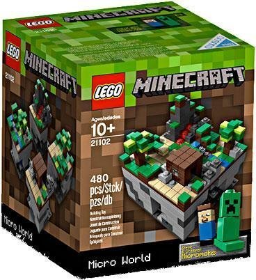 lego 21102 minecraft building set - 9