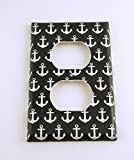 Outlet Switch Plate, Sail Away Navy Blue (114O)