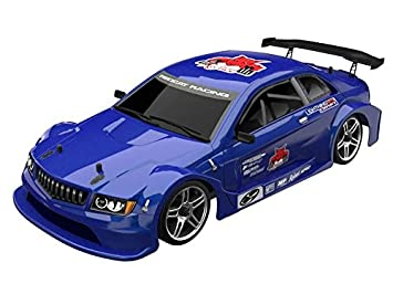 b18cfe229266f Redcat Racing EPX Drift Car with 7.2V 2000mAh Battery, 2.4GHz Radio and  BL10315 Body (1/10 Scale), Metallic Blue