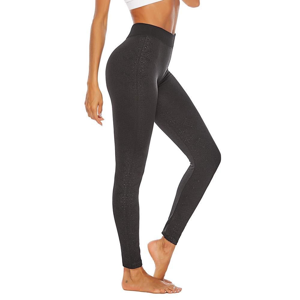 Pantalones Mujeres Tallas Grandes Entrenamiento De Estilo Vintage Leggings Fitness Deporte Yoga Pantalones Deportivos Por Yesmile Cenefas Decorativas
