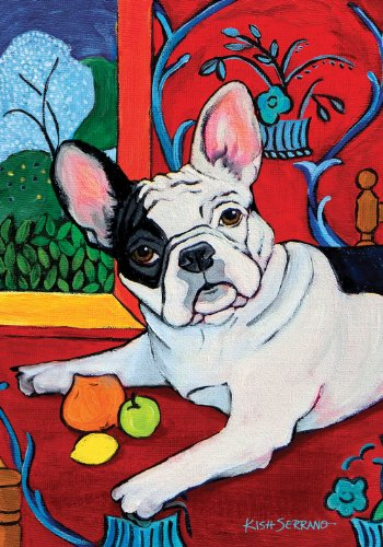 Toland Home Garden Muttisse French Bulldog 28 x 40-Inch Decorative USA-Produced House Flag