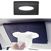 Vetra Car Sun Visor Tissue Paper Box Dispenser with Free Tissues Black for Renault Fluence