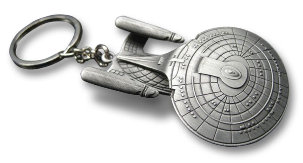 Star Trek USS Enterprise NCC-1701-D Star Trek Keychain key chain (japan import)