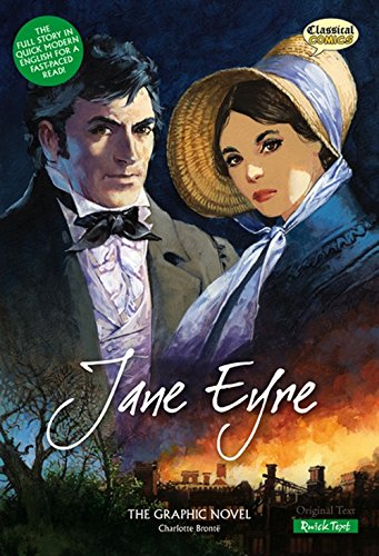 Jane Eyre (Inglese) Copertina flessibile – 29 set 2008 Charlotte Bronte John M. Burns Terry Wiley Classical Comics