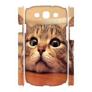 C-Y-F-CASE DIY Cute Cat Pattern Phone Case For Samsung Galaxy S3 I9300