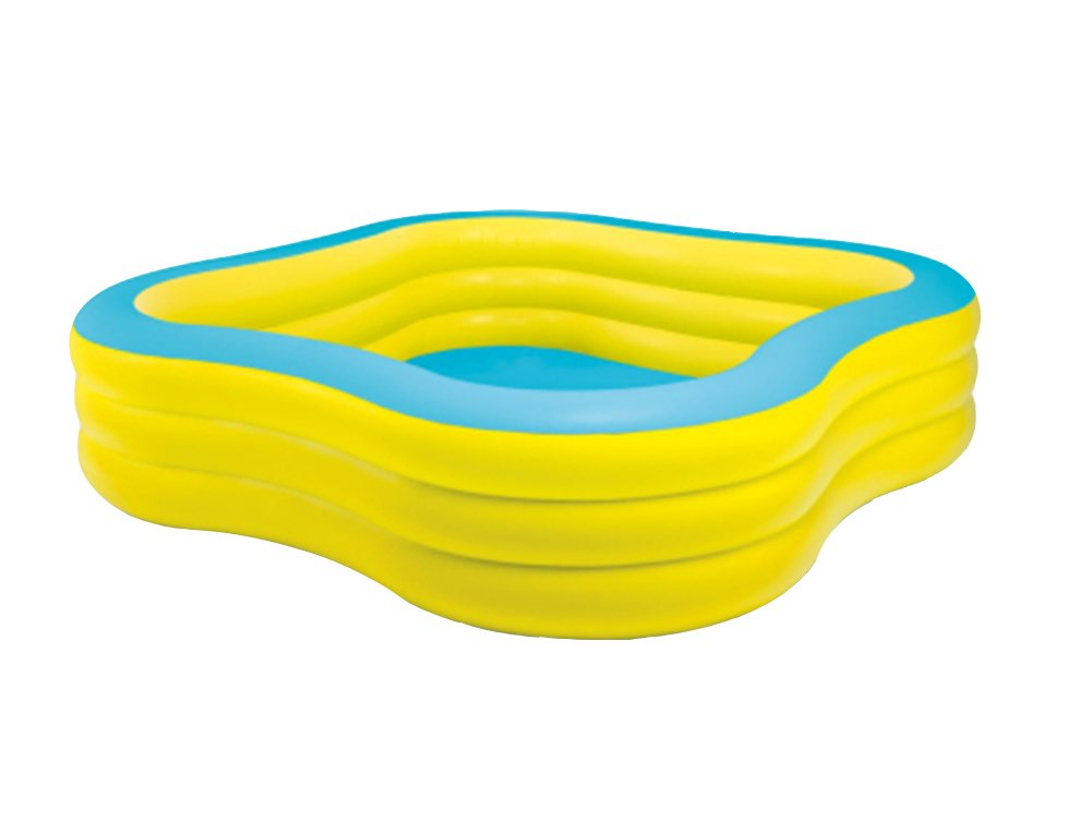 Inflatable Bathtub, Plastic Household Round Bathtub Thickened Folding Portable Bathtub Adult Bathtub Outdoor Swimming Pool/yellow (Color : #1)