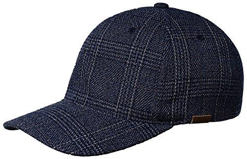 Kangol K5143HT Pattern Flexfit Baseball Baseball Cap, Navy Check - S/M ()