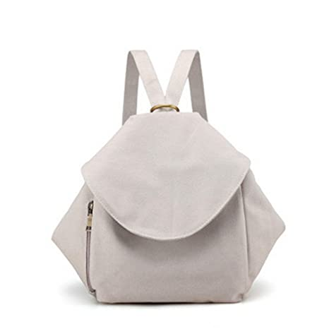 Korean Style Mutifunction Canvas Backpack For Girls School Bags Fashion  Ladies Messenger Backpacks Double Shoulder Bag d42e85a9a6fff