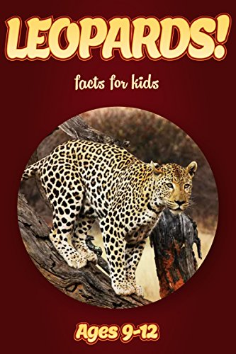 Leopard Facts For Kids Ages 9-12: Amazing Animal Facts With Large Size Pictures: Clouducated Red Series Nonfiction For Kids (Fun Facts About Snow Leopards For Kids)