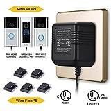Power Adapter for RING Doorbell, UL Certificated Power Supply for RING Video Doorbell,RING Video Doorbell 2 & RING Video Doorbell Pro Battery Charger
