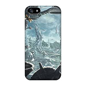 Durable Defender Case For Iphone 5/5s Tpu Cover(fantasy Art Scenery V)