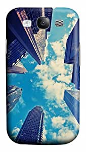 spec covers skyscrapers blue sky PC case/cover for Samsung Galaxy S3 I9300
