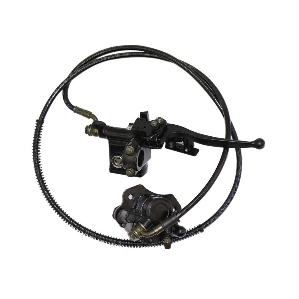 B Blesiya 1 Stü ck hintere Handbremseinheit Metall Hinterrad Hauptbremszylinder Pumpe fü r ATV 50 90 110 125 cc Ersatzteile