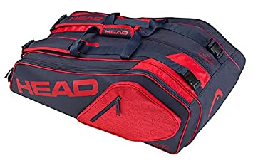 05506ef319ac Image Unavailable. Image not available for. Colour  Head Core 9R Supercombi  Tennis Kit Bag ...