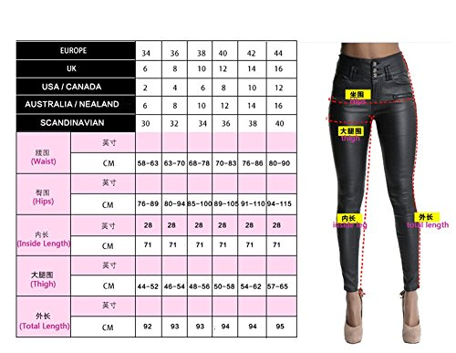 Destroyed Ripped Jeans Angcoco Skinny Holes 0114 Waisted Women's High Pants XwxttqBZF