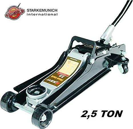 Cric Sollevatore Idraulico A Carrello Professionale 2 5 Tonnellate A