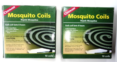 Coghlan's Mosquito Coils made our list of camping safety tips for families who RV and tent camp