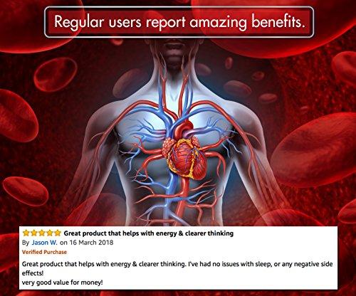 Coenzima Q10 100 mg, 120 cápsulas de alta absorción | CoQ10 de calidad superior con vitamina C y E para aumento de Co-Q10 4