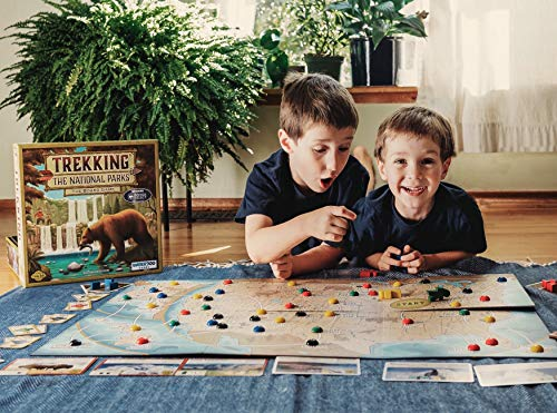 Trekking The National The Family Board Game