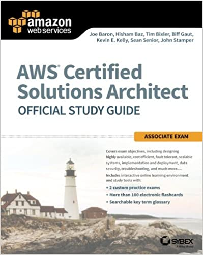 Amazon.com: AWS Certified Solutions Architect Official Study Guide:  Associate Exam (1223444423313): Joe Baron, Hisham Baz, Tim Bixler, Biff  Gaut, ...