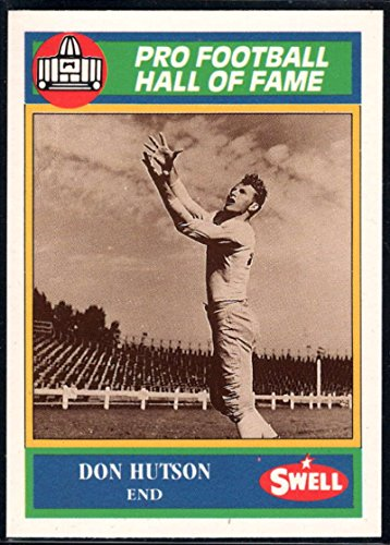(Football NFL 1990 Swell Greats #10 Don Hutson Packers)