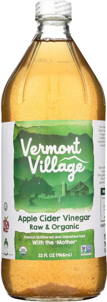 Vermont Village (NOT A CASE) Raw & Organic Apple Cider Vinegar
