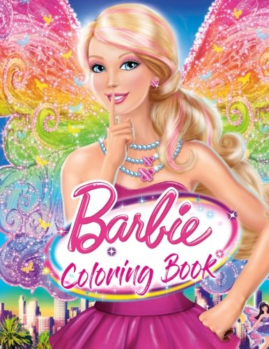 Barbie Coloring Book: Great Activity Book for Girls