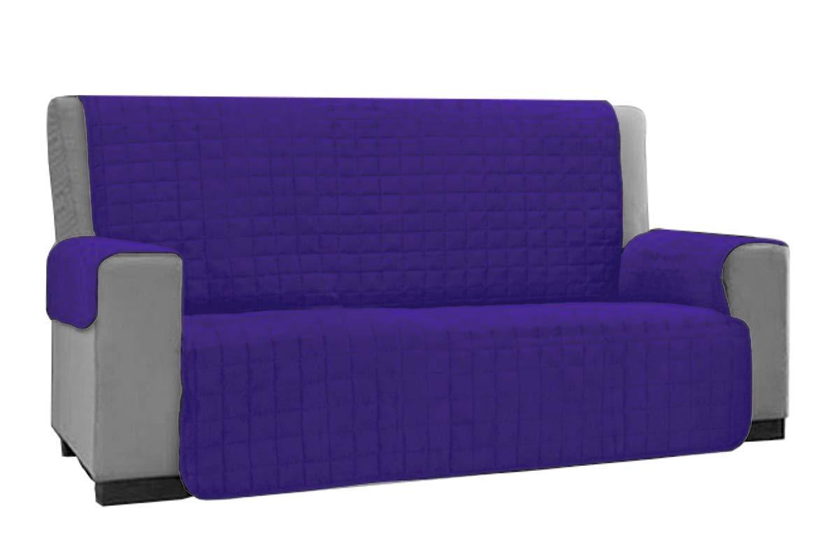 Copridivano Per Divano Reclinabile : Copridivano copertura divano tinta unita anti macchia posti no