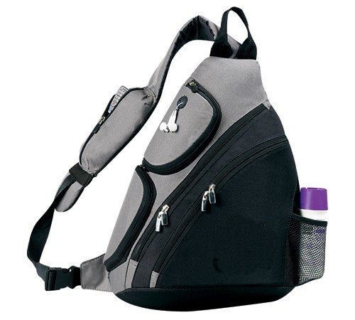 Yens® Fantasybag Urban sport sling pack-Grey,SB-6826, Outdoor Stuffs