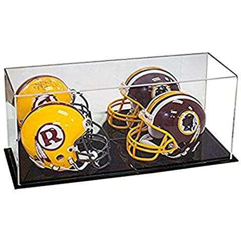 Acrylic Deluxe Display Case with MIrror - Large Rectangle Box 17