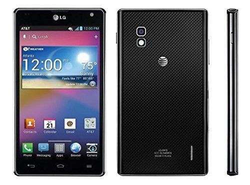 LG Optimus G E970 16GB Unlocked GSM 4G LTE Quad-Core Android Smartphone w/ 8MP Camera - Black